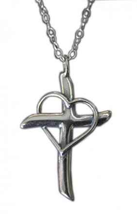 Promise Cross Pendant by Patrick Neuwirth
