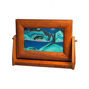 Alder Moving Ocean Blue Sand Pictures Sm.