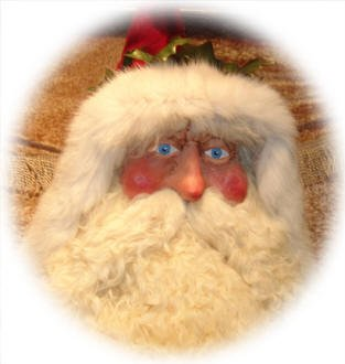 Life Size Father Christmas by artist Brian Kidwell