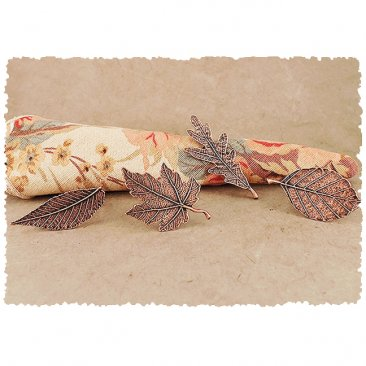 Autumn Leaf Napkin Rings