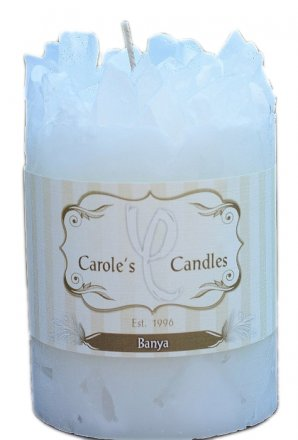 Holiday Banya Pillars Candles