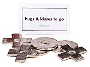 Hugs & Kisses Pocket Charms Bulk 50 Piece