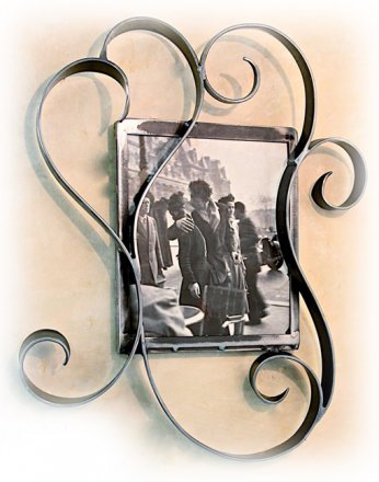 Metal 8x10 Picture Frame Hotel DeVille