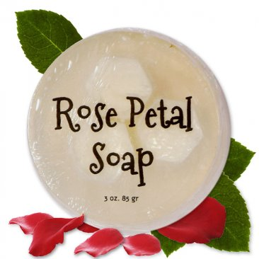 Rose Petal Glycerin Soap
