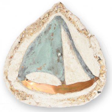 Sailboat Rock Oil Candle