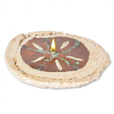Sand Dollars Rock Oil Candle | rock candle