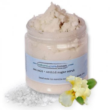 Sea Salt and Orchid Sugar Scrub
