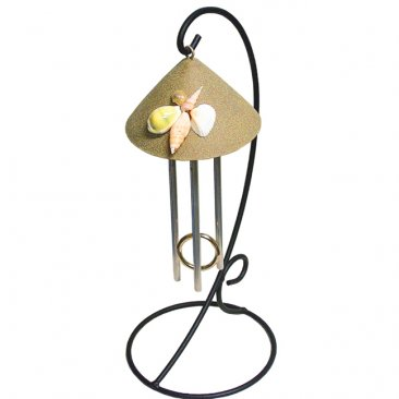 Seashell Sprite Table Top Solar Chime