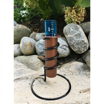 "9"" Resin Rain Gauge Tabletop Coolest Rain Gauge [ clone ]"
