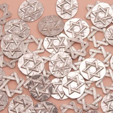 Star of David Assorted Pocket Charms Bulk 50 Piece ★ Only $1.54ea USA FREE SHIPPING