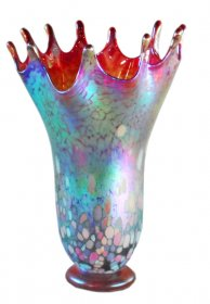 Splash Vase In 5 Beaming Colors