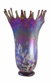 blown glass Splash Vase